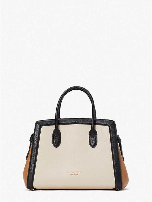 knott colorblocked medium satchel, , rr_large