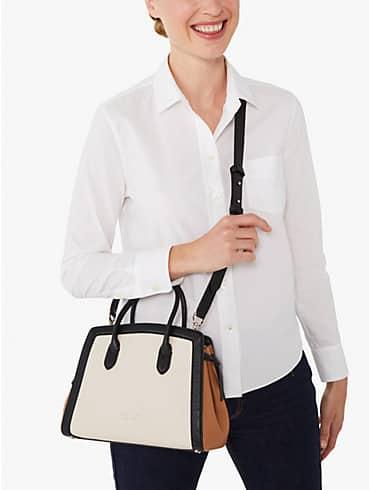 knott colorblocked medium satchel, , rr_productgrid