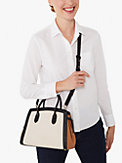 knott colorblocked medium satchel, , s7productThumbnail