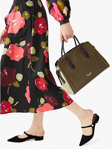 knott colorblocked large satchel, , rr_productgrid