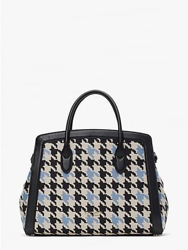knott houndstooth large satchel, , rr_productgrid