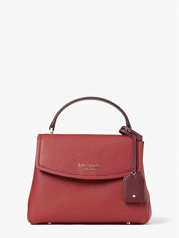 thompson colorblocked small top-handle bag, , rr_large