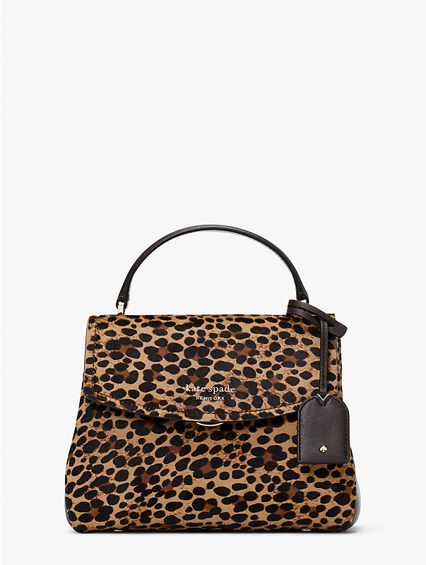 thompson leopard small top-handle bag, , rr_large