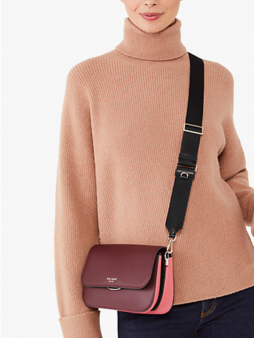 buddie colorblocked medium shoulder bag, , rr_productgrid