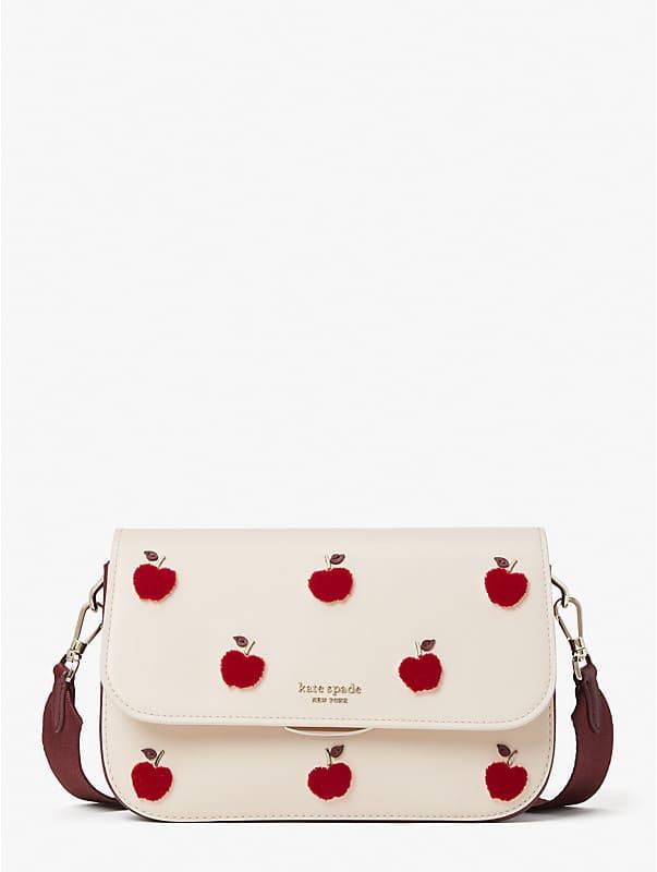 buddie apple toss medium shoulder bag, , rr_large