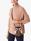 blinx leopard 3d owl crossbody, , s7productThumbnail