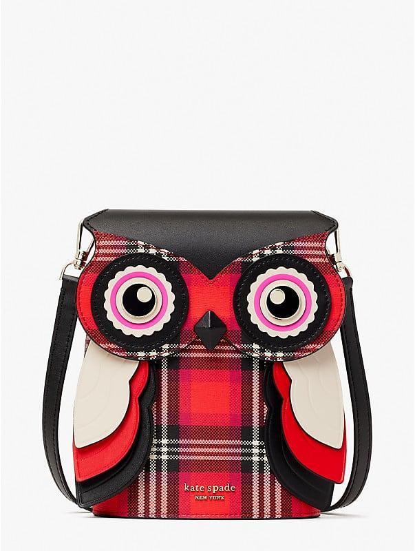 Blinx Plaid 3D Owl Umhängetasche, , rr_large