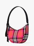 smile foliage plaid small shoulder bag, , s7productThumbnail