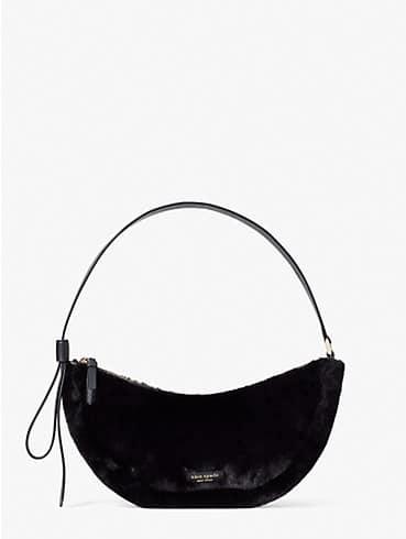smile faux-fur small shoulder bag, , rr_productgrid