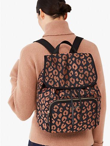 the little better sam leopard medium backpack, , rr_productgrid