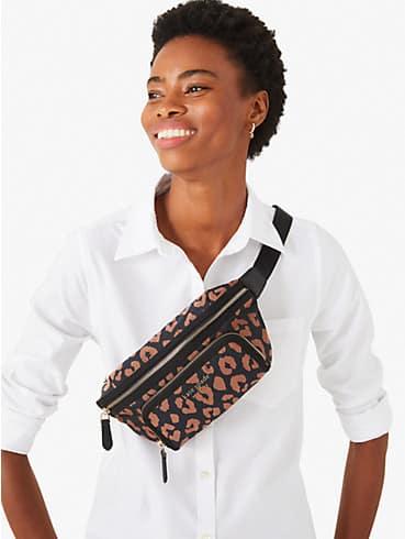 the little better sam leopard medium belt bag, , rr_productgrid