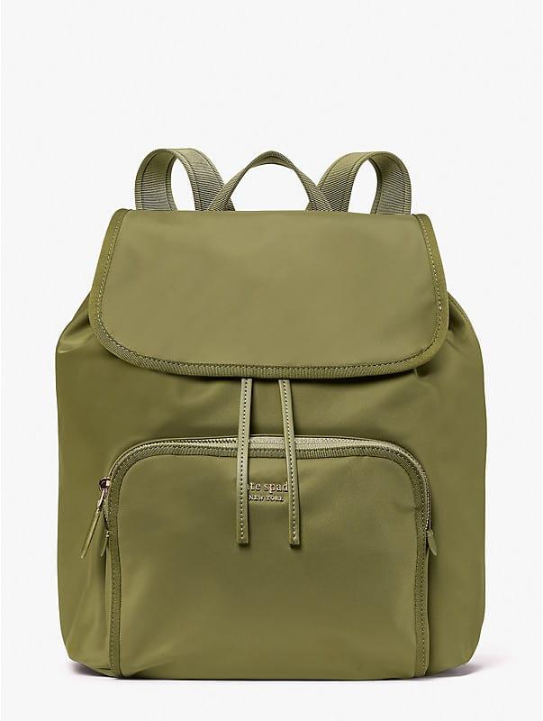 the little better sam nylon medium backpack, , rr_large