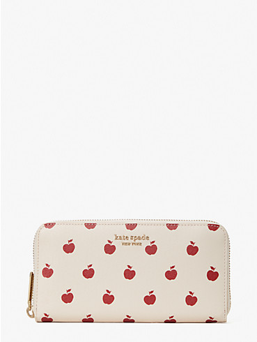 spencer apple toss zip-around continental wallet, , rr_productgrid