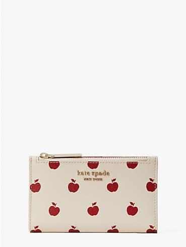 spencer apple toss small slim bifold wallet, , rr_productgrid