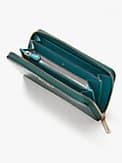 Spencer Portemonnaie aus Leder mit Krokoprägung mit Rundumreißverschluss, , s7productThumbnail