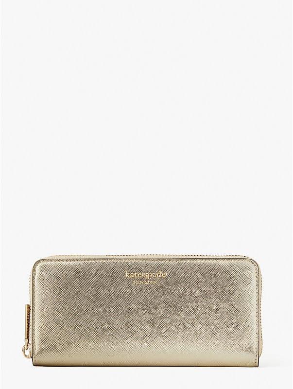 Spencer Metallic Portemonnaie, schmal, , rr_large