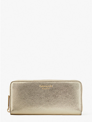 spencer metallic slim continental wallet, , rr_productgrid
