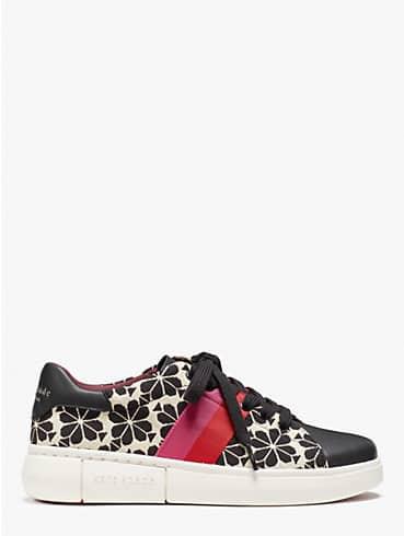 spade flower jacquard keswick sneakers, , rr_productgrid