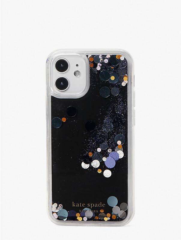 liquid glitter confetti iphone 12 mini case, , rr_large