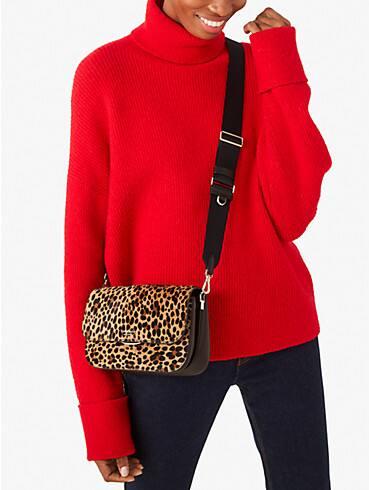 buddie leopard haircalf medium shoulder bag, , rr_productgrid