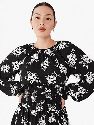 Floral Clusters Kleid, ausgestellt, , rr_productgrid
