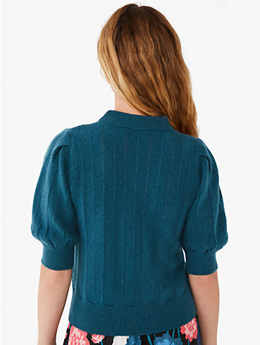 cashmere puff-sleeve sweater, , rr_productgrid