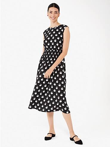apple toss smocked-waist dress, , rr_productgrid