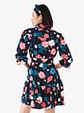 viney floral fluid shirtdress, , s7productThumbnail