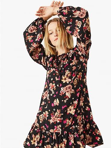 floral bouquet shift dress, , rr_productgrid