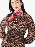 dotty leopard spin dress, , s7productThumbnail