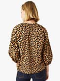 dotty leopard around town top, , s7productThumbnail