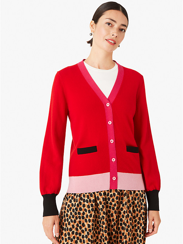 colorblock cashmere gallery cardigan, , rr_large