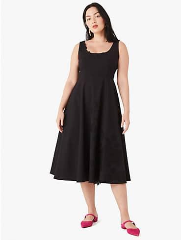 floral lace appliqué dress, , rr_productgrid