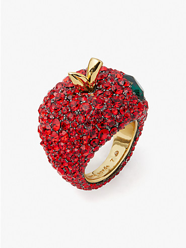 dashing beauty apple statement ring, , rr_productgrid
