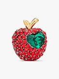 dashing beauty pavé apple studs, , s7productThumbnail