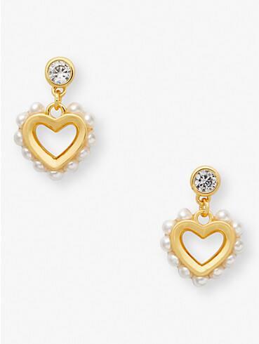 shining spade pearl drop earrings, , rr_productgrid