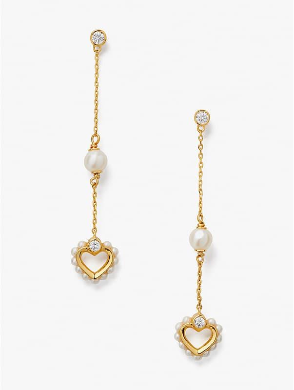 shining spade linear earrings, , rr_large