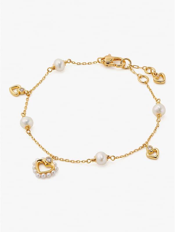 Shining Spade Perlen-Armband, einreihig, , rr_large