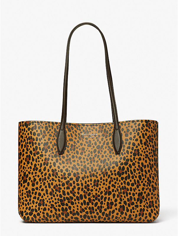 all day leopard large tote, , rr_large