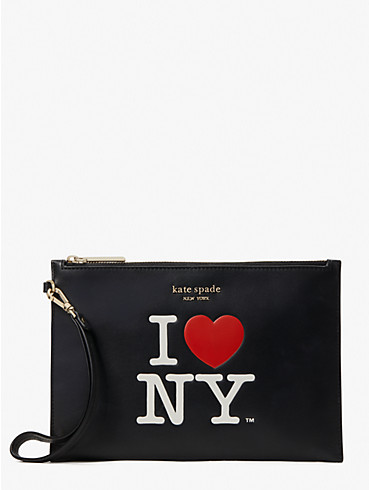 i heart ny x kate spade new york pouch wristlet, , rr_productgrid