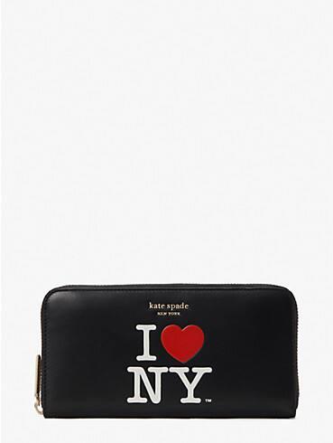 I Heart NY x kate spade new york Portemonnaie mit Rundumreißverschluss, , rr_productgrid