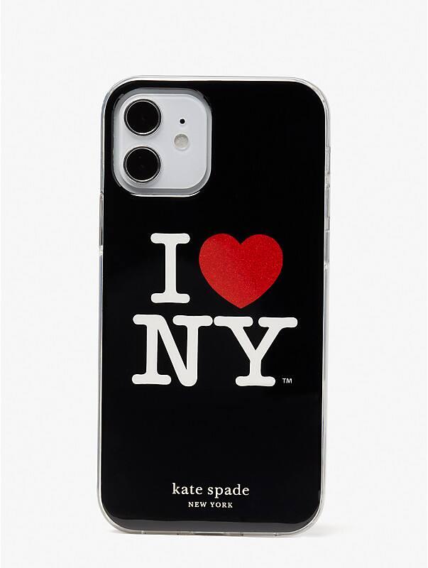 i heart ny x kate spade new york iphone 12/12 pro case, , rr_large
