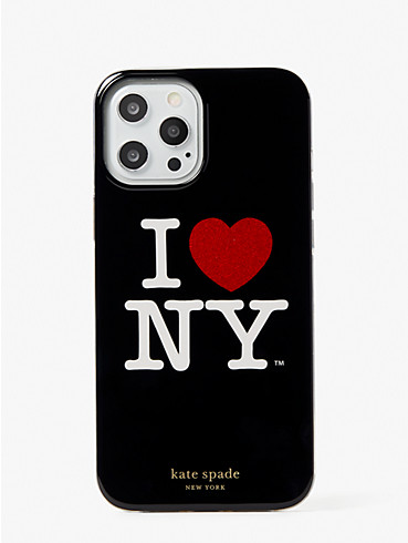 i heart ny x kate spade new york iphone 12 pro max case, , rr_productgrid