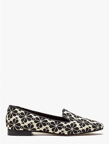 spade flower jacquard lounge loafers, , rr_productgrid