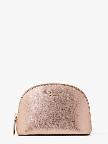 spencer metallic small dome cosmetic case, , rr_productgrid