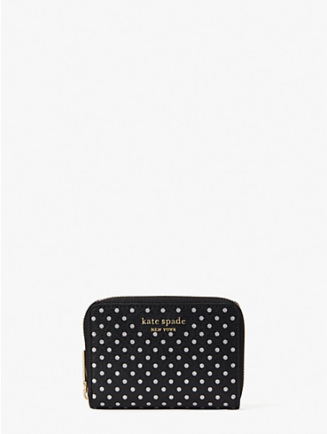 spencer metallic dot zip cardholder, , rr_productgrid