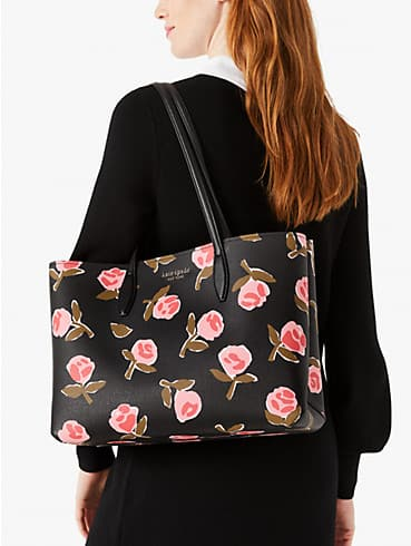 all day ditsy rose large tote, , rr_productgrid