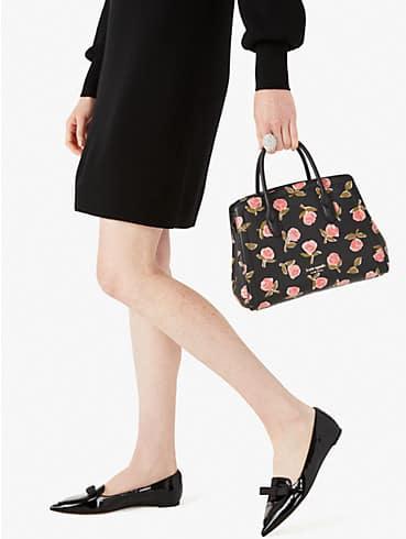 knott ditsy rose medium satchel, , rr_productgrid