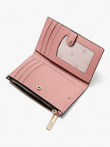 spencer ditsy rose small slim bifold wallet, , rr_productgrid