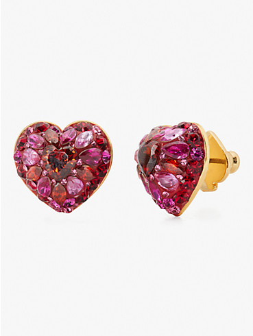 something sparkly heart clay pavé studs, , rr_productgrid